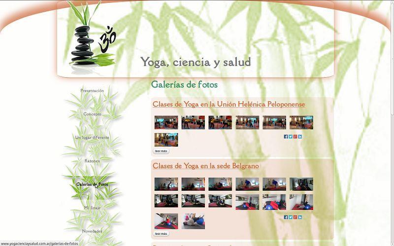 Yoga, ciencia y salud